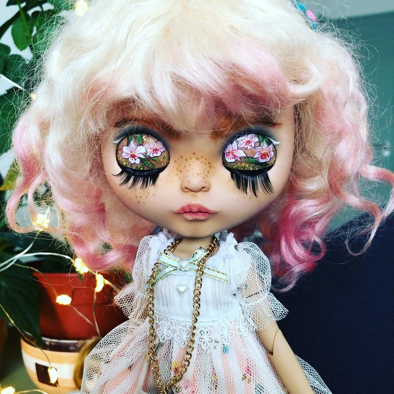 Marisol - Custom Blythe Doll One-Of-A-Kind OOAK Custom Blythe Doll (OOAK)