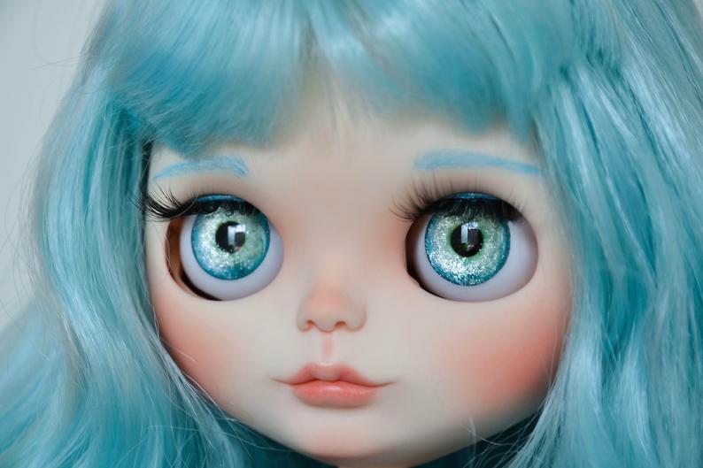 Azzurra - Custom Blythe Doll One-Of-A-Kind OOAK Sold-out Custom Blythes
