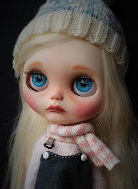 Francesca - Custom Blythe Doll One-Of-A-Kind OOAK Sold-out Custom Blythes