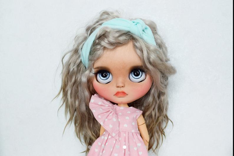 Lila - Custom Blythe Doll One-Of-A-Kind OOAK Sold-out Custom Blythes