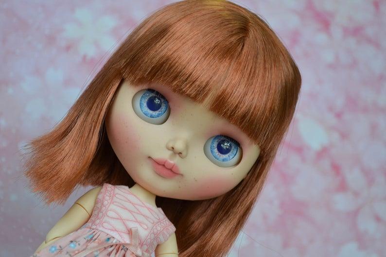 Poppy - Custom Blythe Doll One-Of-A-Kind OOAK Sold-out Custom Blythes