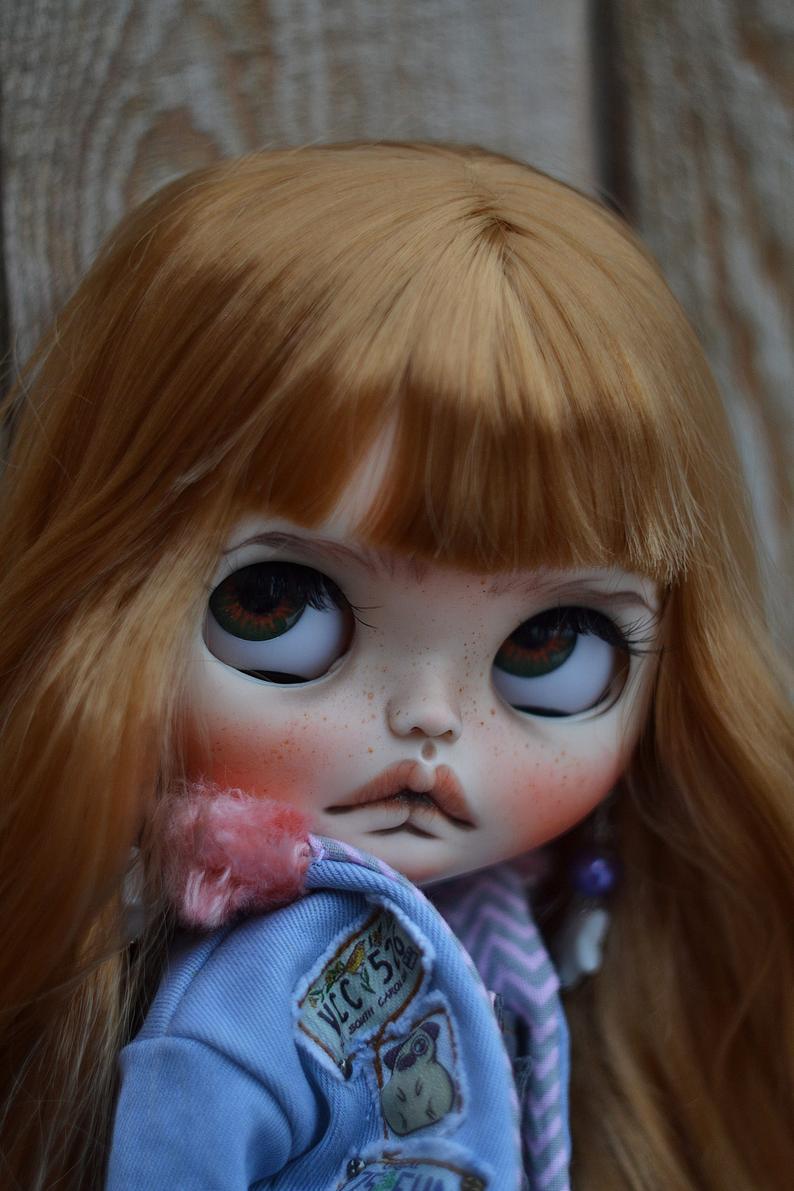 Megan - Custom Blythe Doll One-Of-A-Kind OOAK Sold-out Custom Blythes