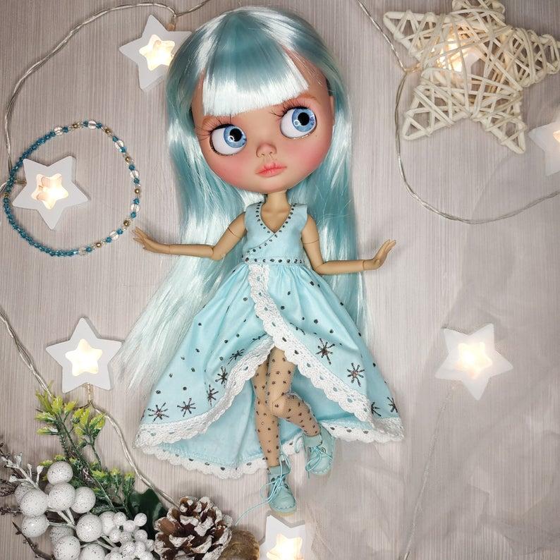 Tauriel - Custom Blythe Doll One-Of-A-Kind OOAK Custom Blythe Doll (OOAK)