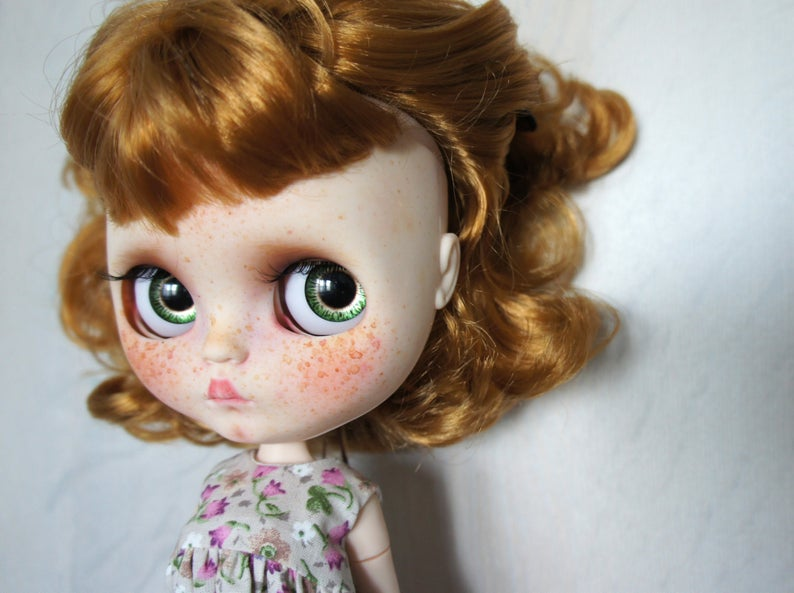 Mooney - Custom Blythe Doll One-Of-A-Kind OOAK Sold-out Custom Blythes