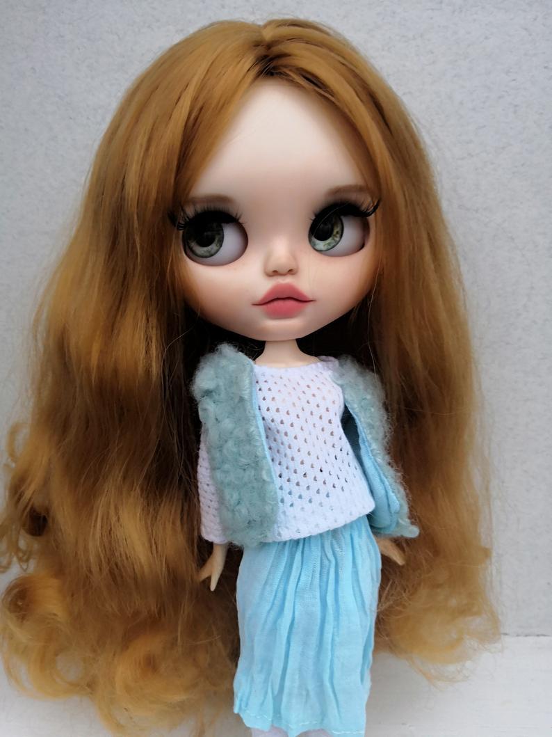 Harley - Custom Blythe Doll One-Of-A-Kind OOAK Custom Blythe Doll (OOAK)