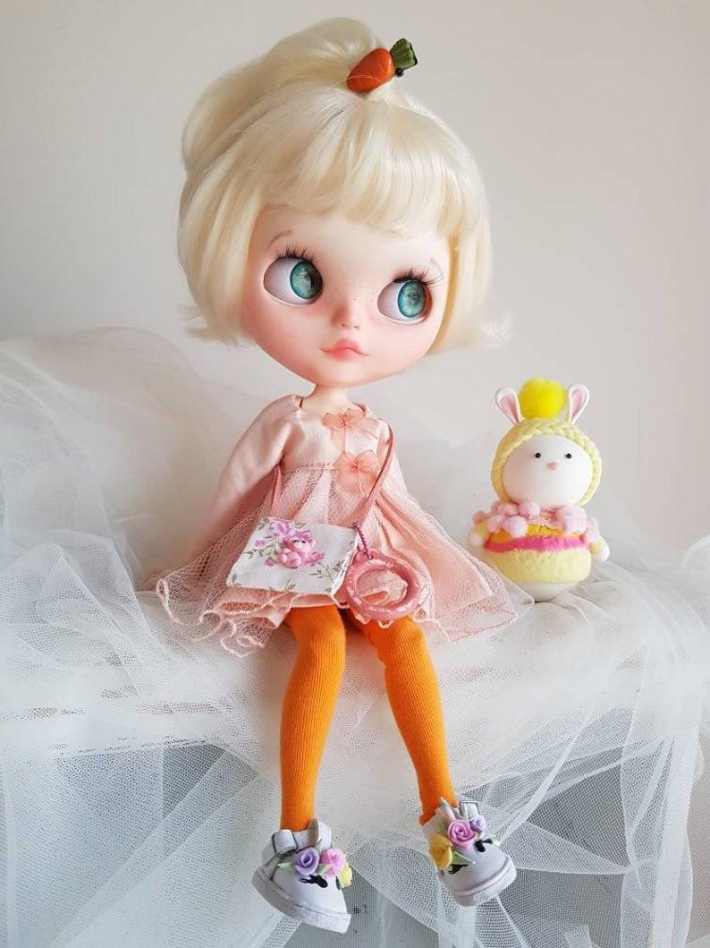 Berkley - Custom Blythe Doll One-Of-A-Kind OOAK Sold-out Custom Blythes