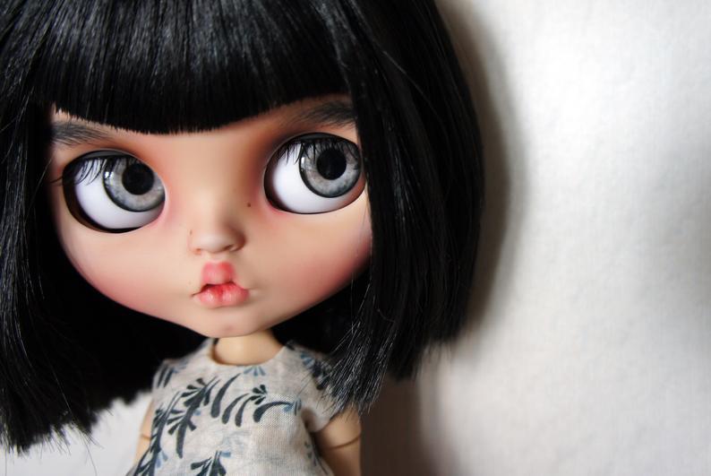 Shiny - Custom Blythe Doll One-Of-A-Kind OOA Custom Blythe Doll (OOAK)