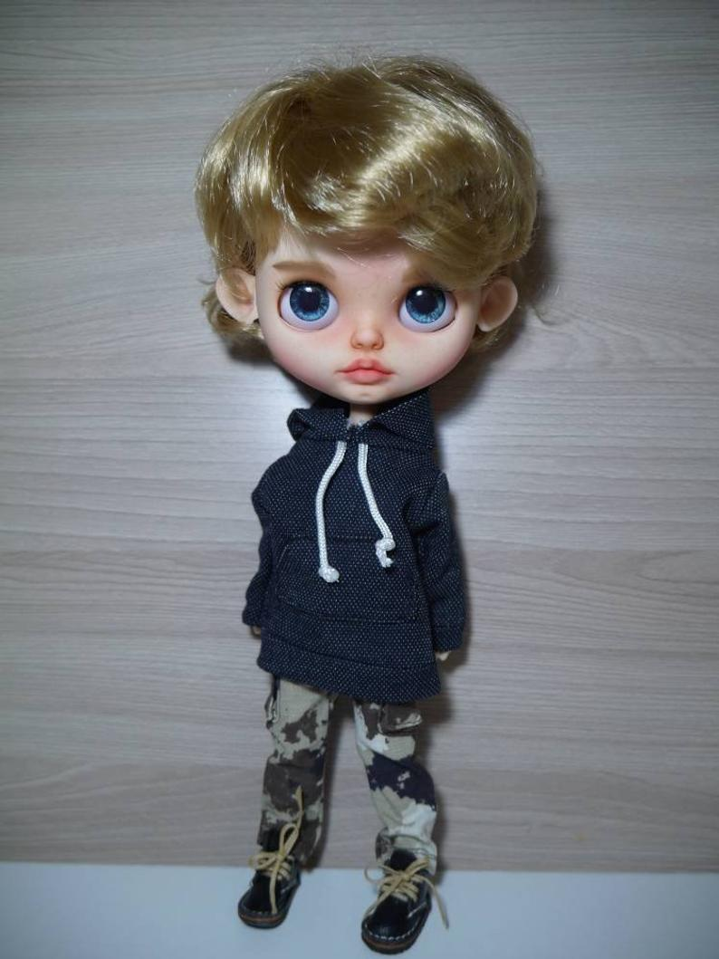 Jimmy - Custom Blythe Doll One-Of-A-Kind OOAK Sold-out Custom Blythes