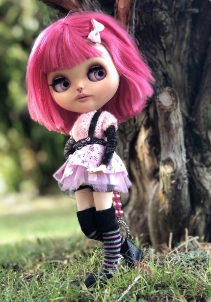 Isotta - Custom Blythe Doll One-Of-A-Kind OOAK Sold-out Custom Blythes