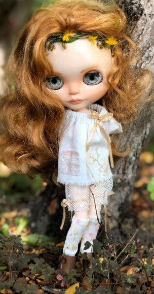 Benedetta - Custom Blythe Doll One-Of-A-Kind OOAK Custom Blythe Doll (OOAK)