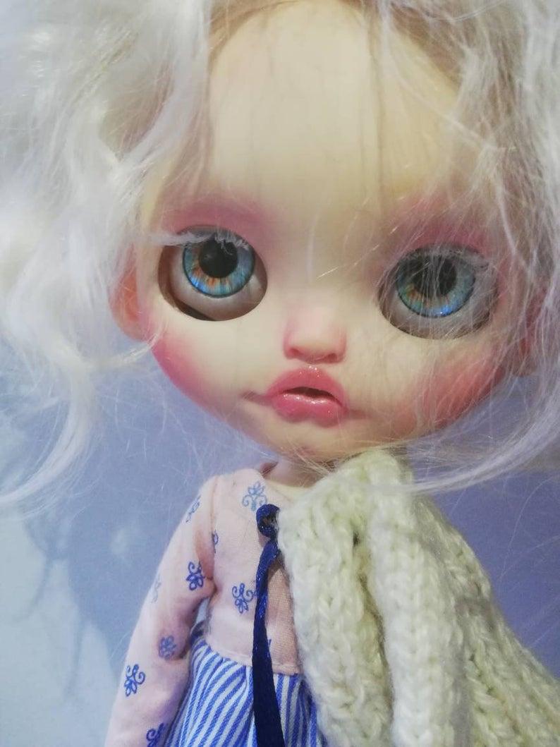 Karlee - Custom Blythe Doll One-Of-A-Kind OOAK Custom Blythe Doll (OOAK)