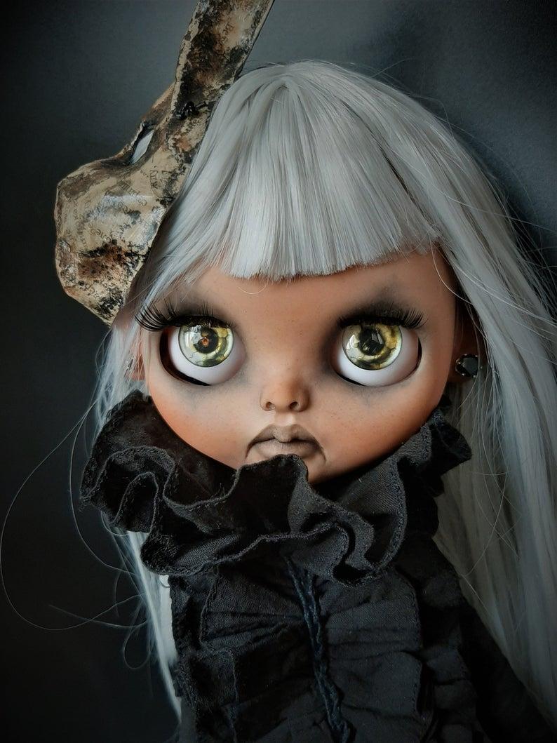 Sierra – Custom Blythe Doll One-Of-A-Kind OOAK Sold-out Custom Blythes