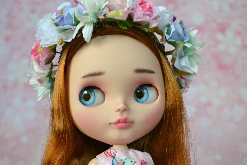 Avril - Custom Blythe Doll One-Of-A-Kind OOAK Custom Blythe Doll (OOAK)