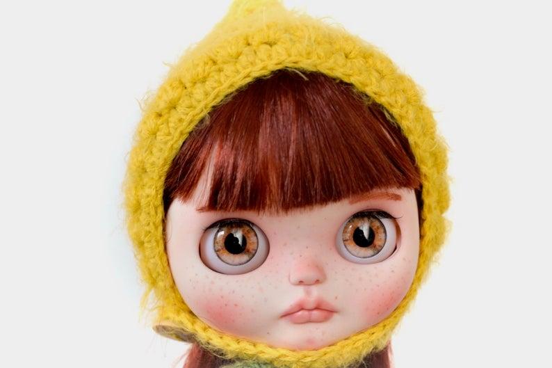 Nina - Custom Blythe Doll One-Of-A-Kind OOAK Custom Blythe Doll (OOAK)