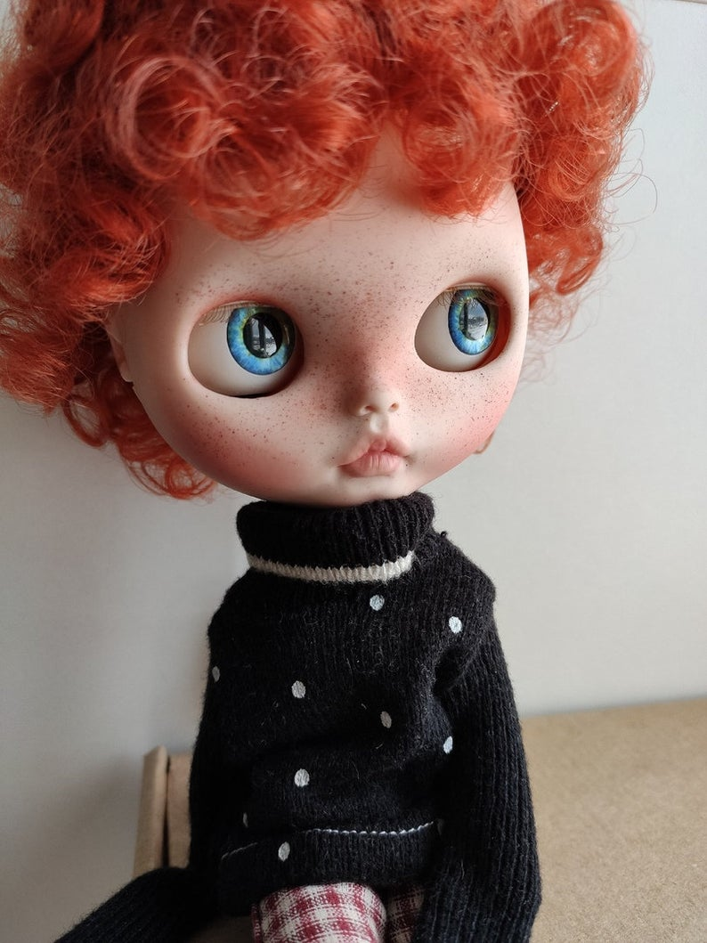 Presley – Custom Blythe Doll One-Of-A-Kind OOAK Sold-out Custom Blythes