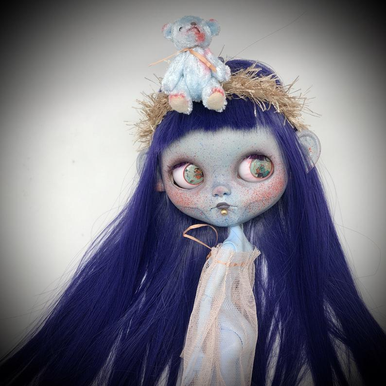 Aksinya – Custom Blythe Doll One-Of-A-Kind OOAK Sold-out Custom Blythes