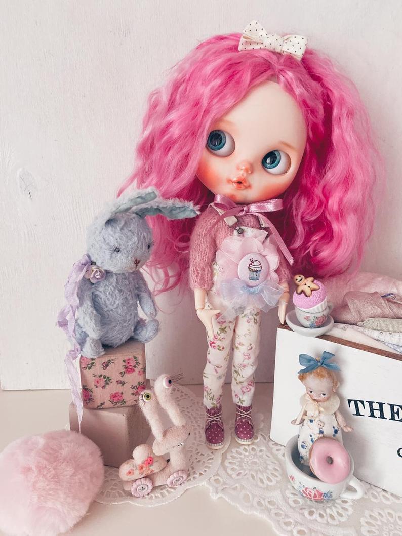 Brooke – Custom Blythe Doll One-Of-A-Kind OOAK Custom Blythe Doll (OOAK)
