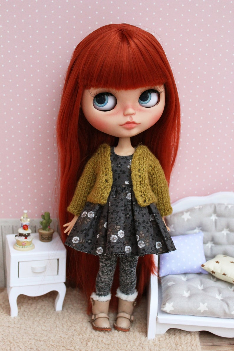 Catherine – Custom Blythe Doll One-Of-A-Kind OOAK Sold-out Custom Blythes