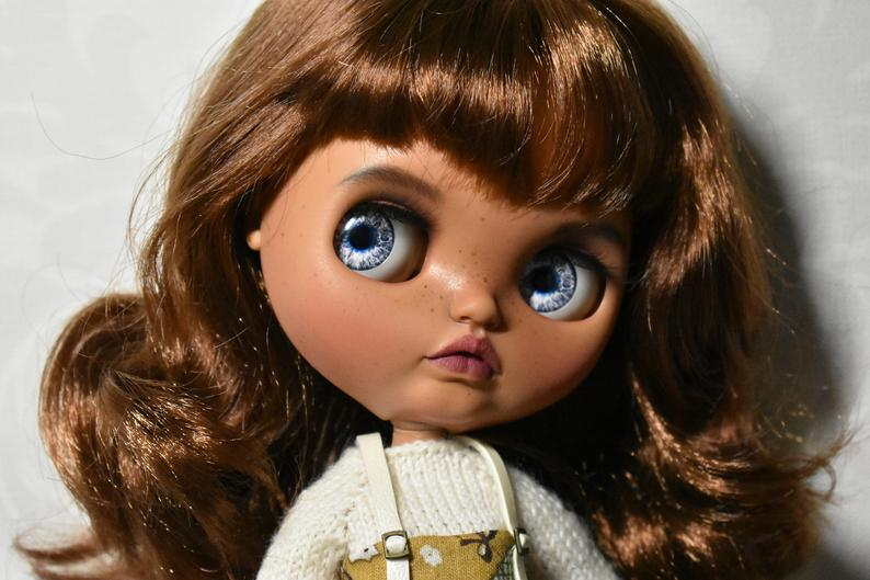 Mischa – Custom Blythe Doll One-Of-A-Kind OOAK Sold-out Custom Blythes