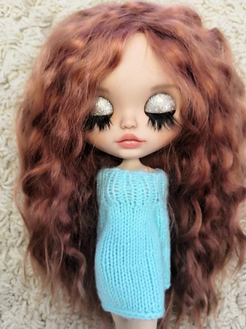 Mckenzie – Custom Blythe Doll One-Of-A-Kind OOAK Sold-out Custom Blythes