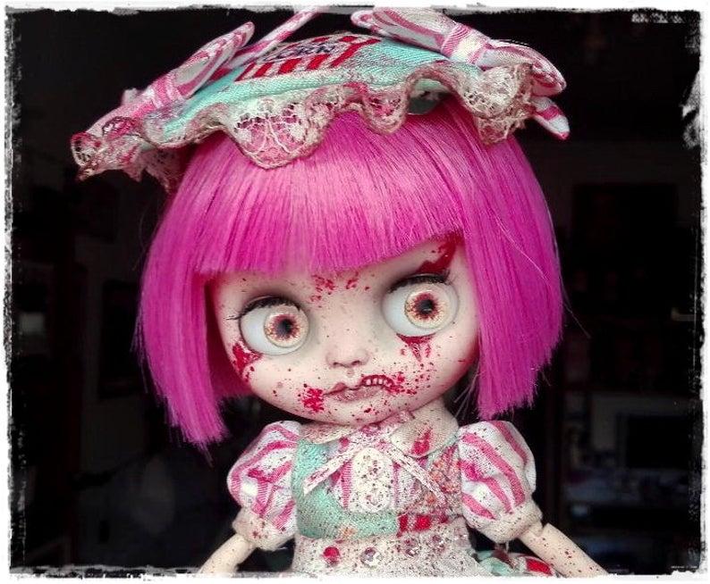 Winnie – Custom Blythe Doll One-Of-A-Kind OOAK Custom Blythe Doll (OOAK)