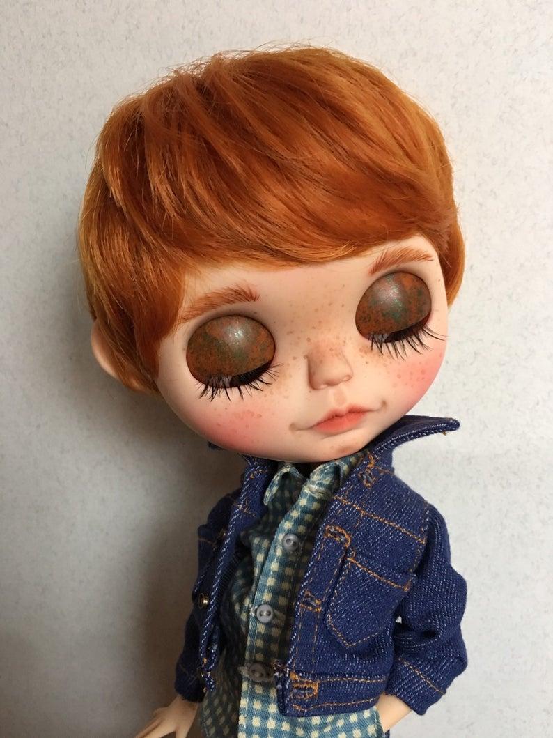 Jack – Custom Blythe Doll One-Of-A-Kind OOAK Sold-out Custom Blythes