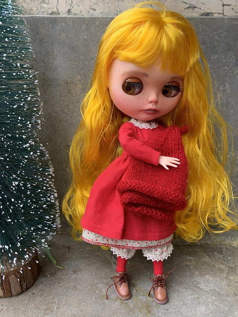 Sawyer – Custom Blythe Doll One-Of-A-Kind OOAK Sold-out Custom Blythes