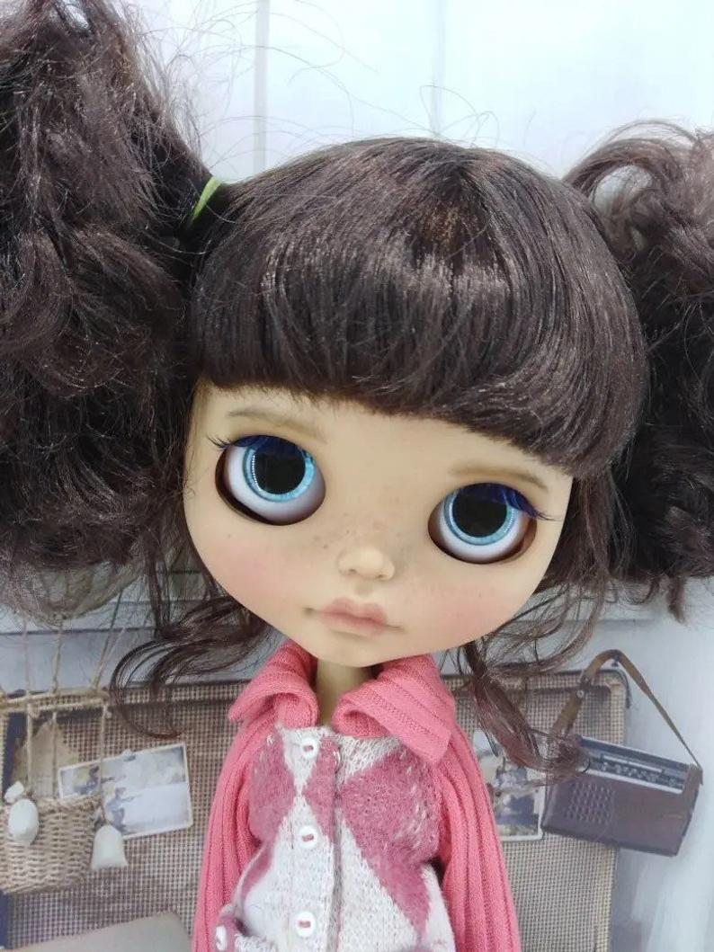 Zoe – Custom Blythe Doll One-Of-A-Kind OOAK Sold-out Custom Blythes