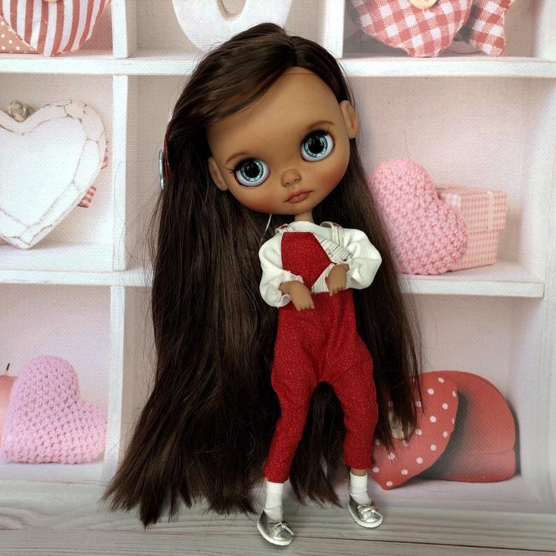 Alice – Custom Blythe Doll One-Of-A-Kind OOAK Custom Blythe Doll (OOAK)
