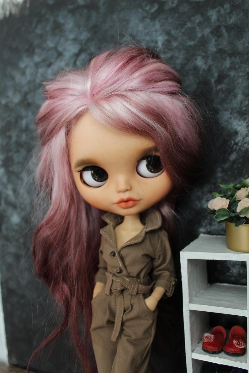 Amelie – Custom Blythe Doll One-Of-A-Kind OOAK Custom Blythe Doll (OOAK)