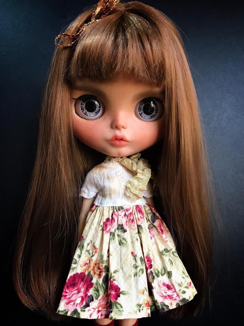 Aniya – Custom Blythe Doll One-Of-A-Kind OOAK Custom Blythe Doll (OOAK)