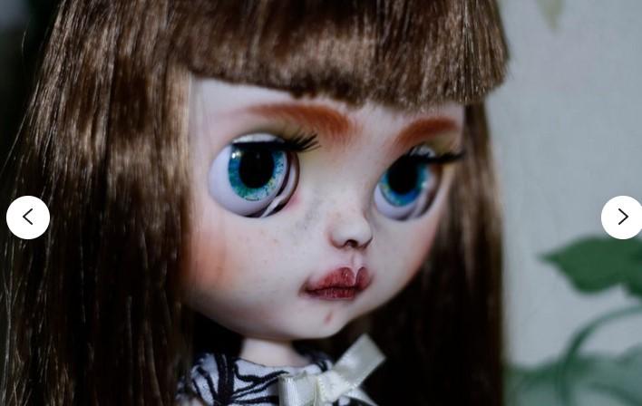 Annika – Custom Blythe Doll One-Of-A-Kind OOAK Custom Blythe Doll (OOAK)