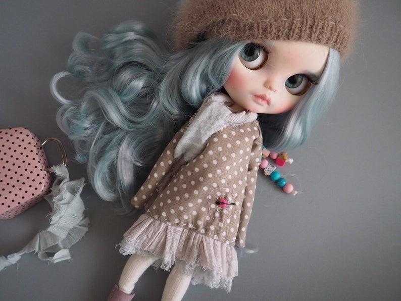 Arianna – Custom Blythe Doll One-Of-A-Kind OOAK Custom Blythe Doll (OOAK)