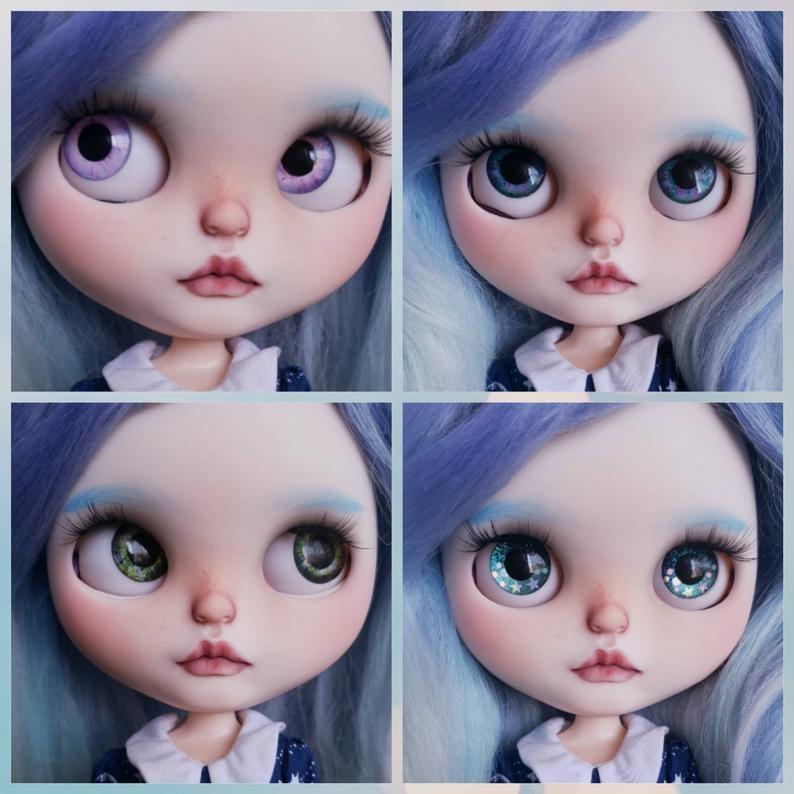 Galatea – Custom Blythe Doll One-Of-A-Kind OOAK Custom Blythe Doll (OOAK)