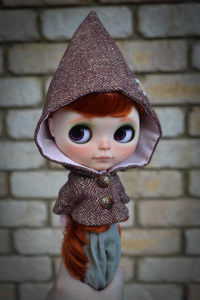 Georgia – Custom Blythe Doll One-Of-A-Kind OOAK Custom Blythe Doll (OOAK)