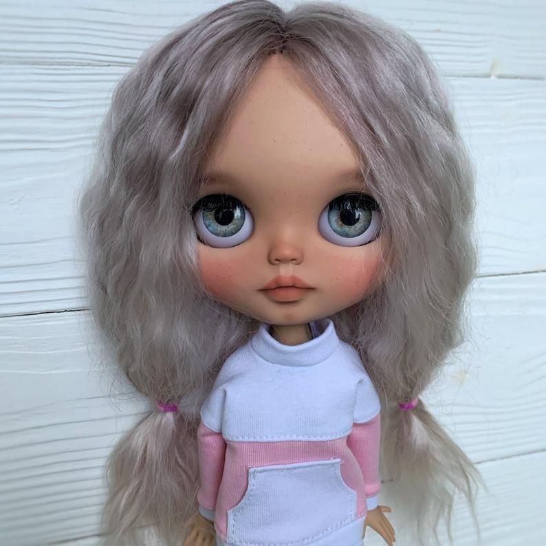 Hadassah – Custom Blythe Doll One-Of-A-Kind OOAK Custom Blythe Doll (OOAK)