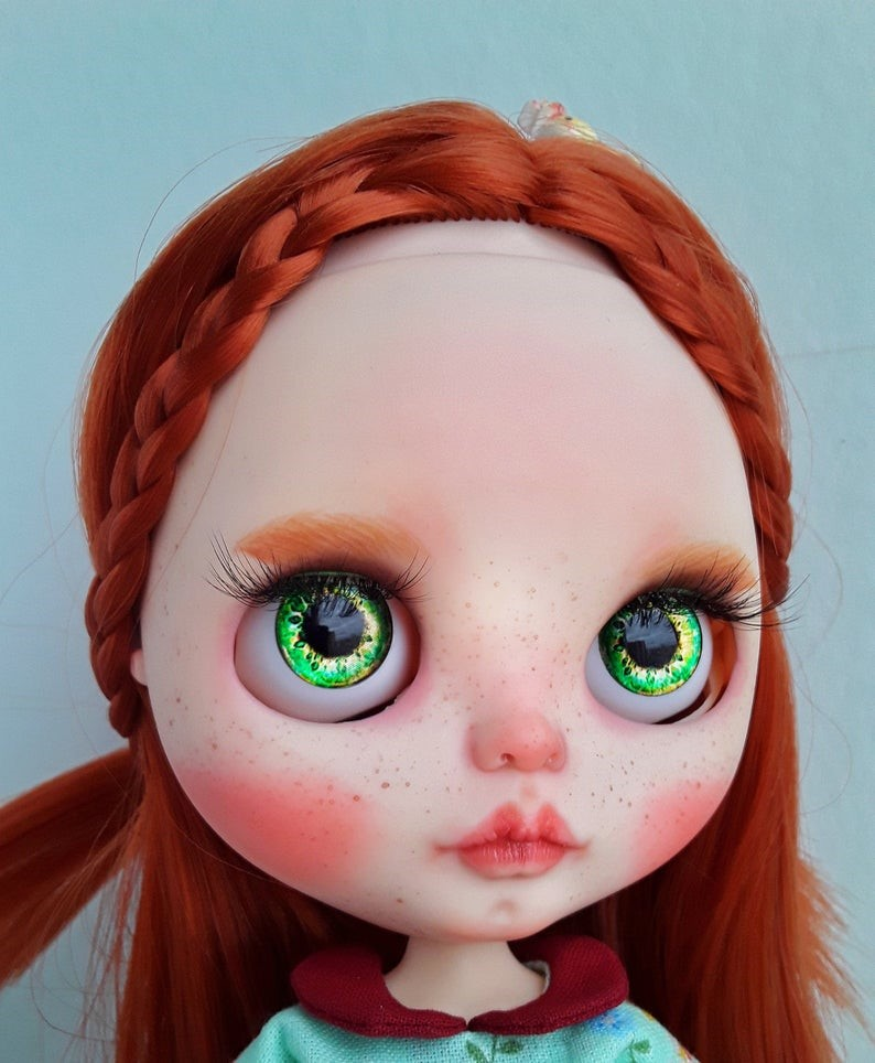 Ira – Custom Blythe Doll One-Of-A-Kind OOAK Custom Blythe Doll (OOAK)