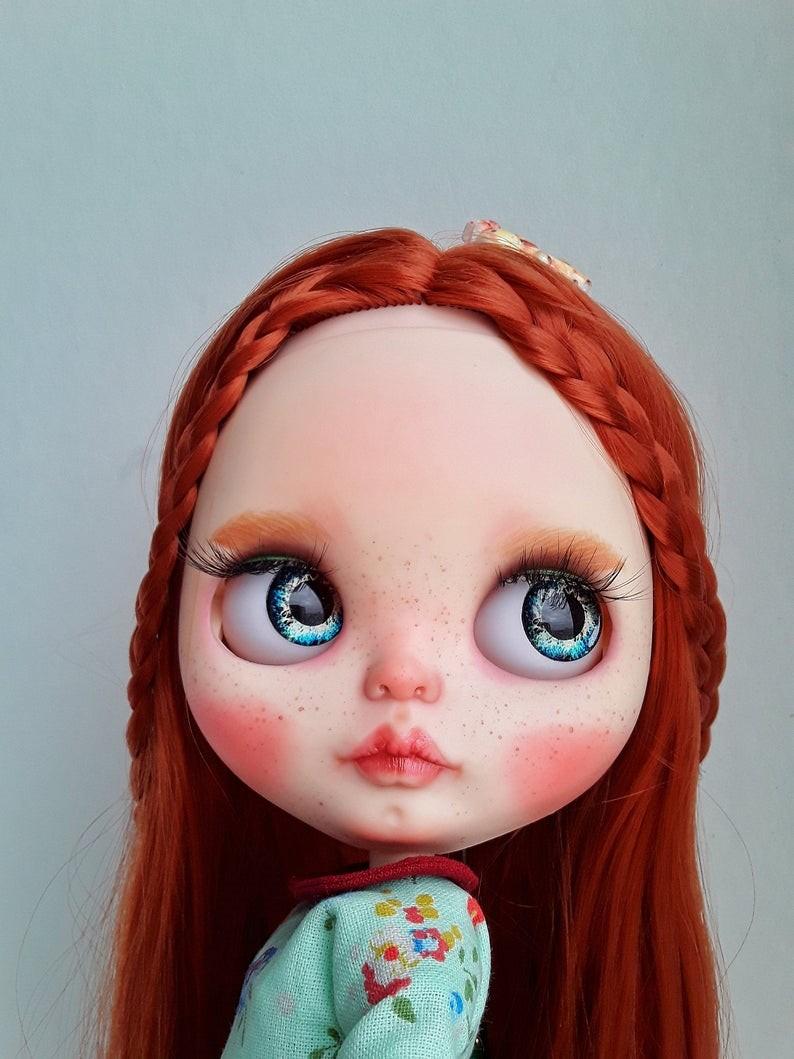 Ira – Custom Blythe Doll One-Of-A-Kind OOAK