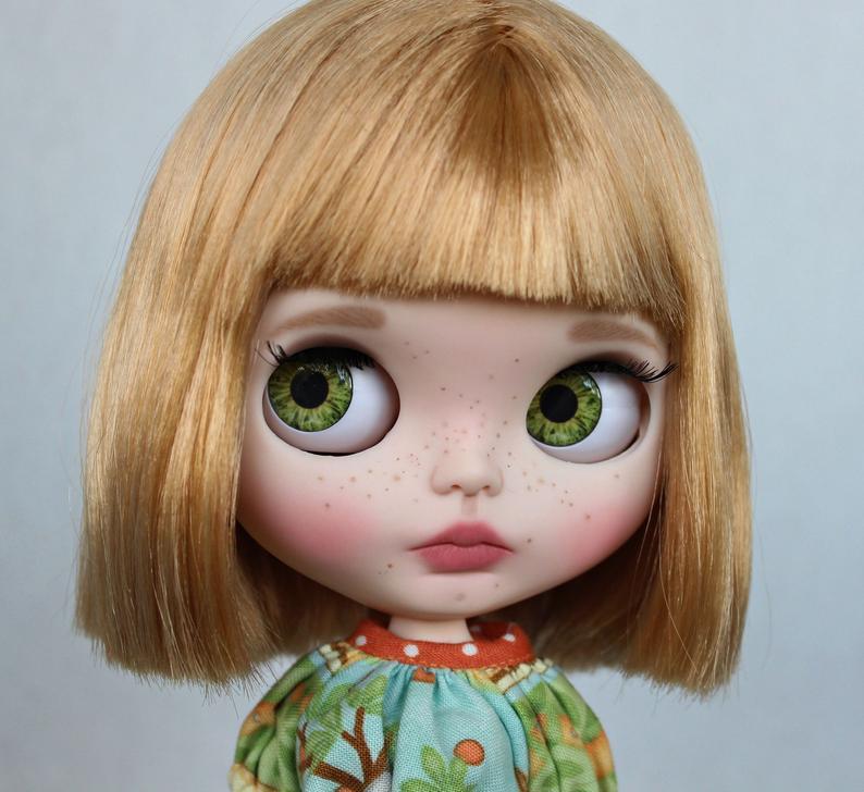 Jolie - Custom Blythe Doll One-Of-A-Kind OOAK Custom Blythe Doll (OOAK)
