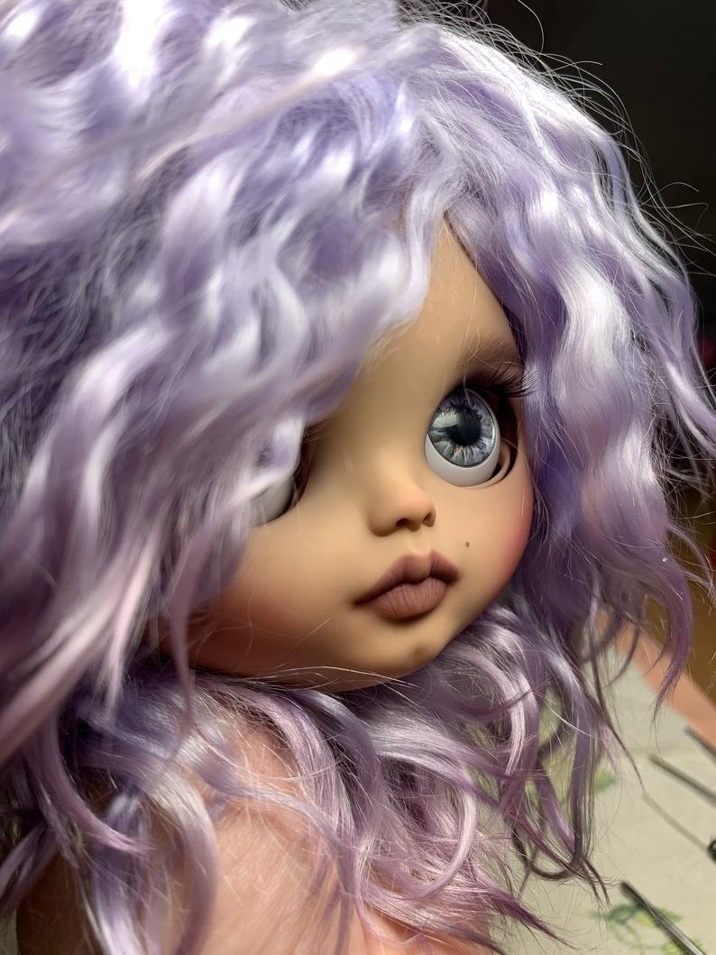 Josephine – Custom Blythe Doll One-Of-A-Kind OOAK Custom Blythe Doll (OOAK)