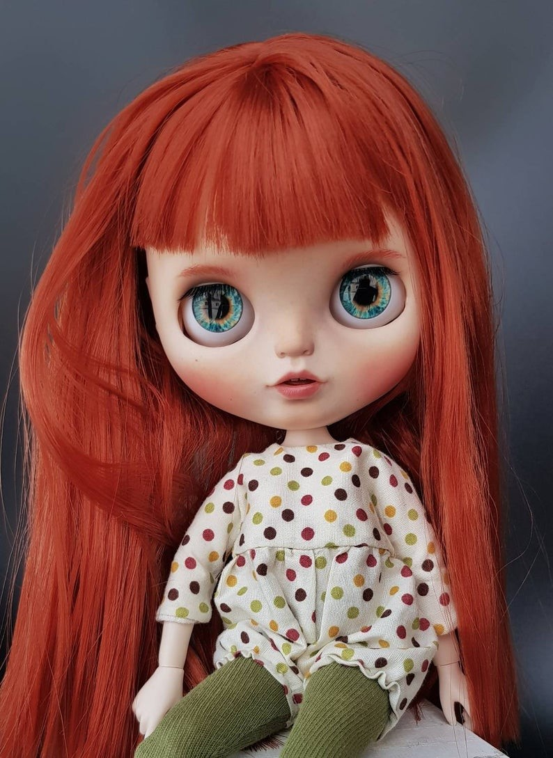 Kori – Custom Blythe Doll One-Of-A-Kind OOAK Custom Blythe Doll (OOAK)
