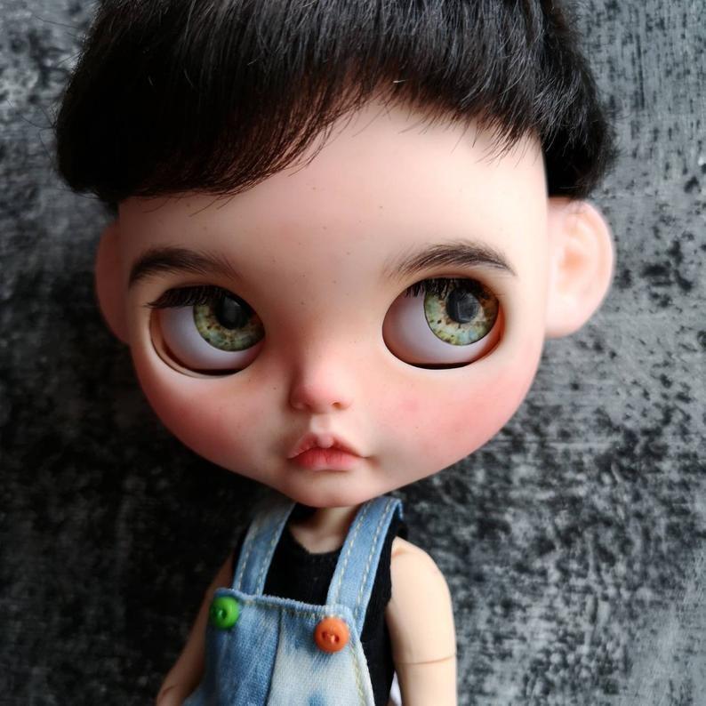 Little Harry Potter – Custom Blythe Doll One-Of-A-Kind OOAK Custom Blythe Doll (OOAK)