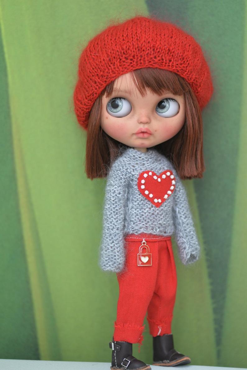 Madelyn – Custom Blythe Doll One-Of-A-Kind OOAK Custom Blythe Doll (OOAK)