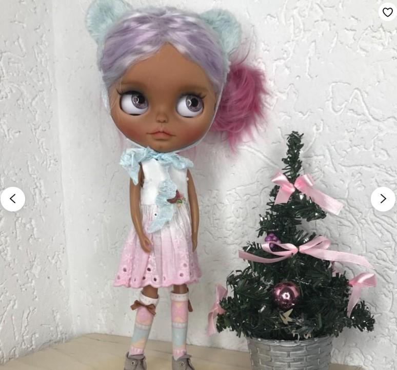 Misha – Custom Blythe Doll One-Of-A-Kind OOAK Custom Blythe Doll (OOAK)