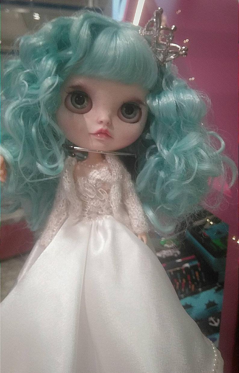 Nalani – Custom Blythe Doll One-Of-A-Kind OOAK Custom Blythe Doll (OOAK)