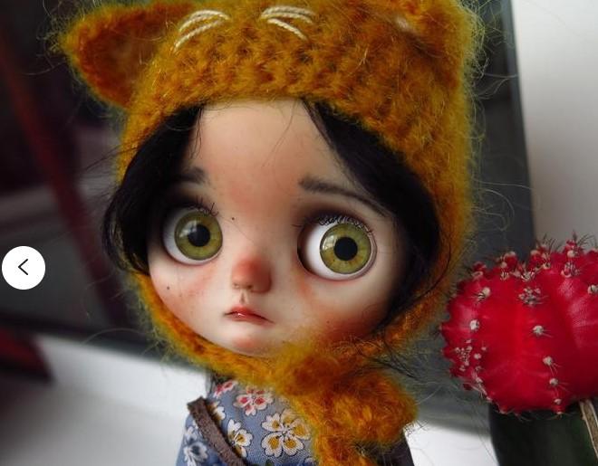 Nikole – Custom Blythe Doll One-Of-A-Kind OOAK Custom Blythe Doll (OOAK)