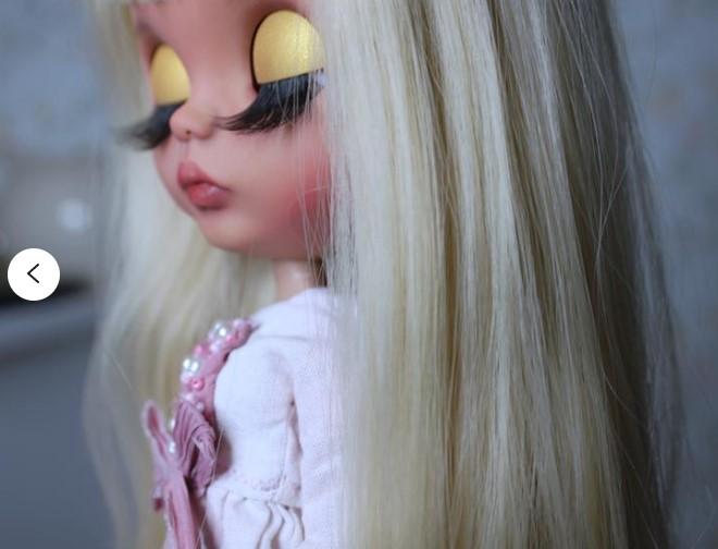Noemi – Custom Blythe Doll One-Of-A-Kind OOAK Custom Blythe Doll (OOAK)