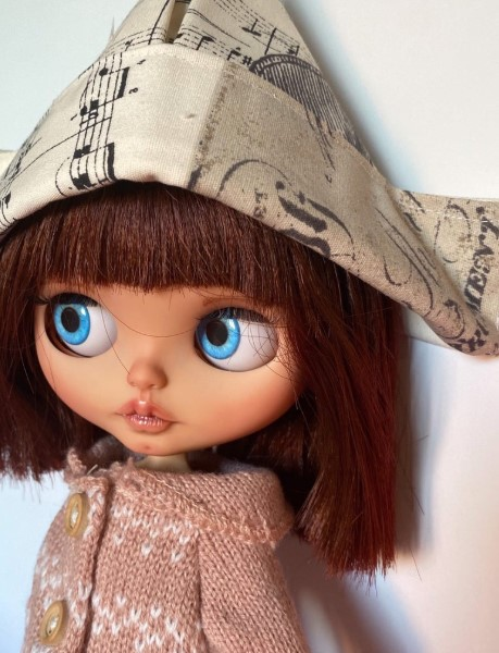 Olivia – Custom Blythe Doll One-Of-A-Kind OOAK Custom Blythe Doll (OOAK)