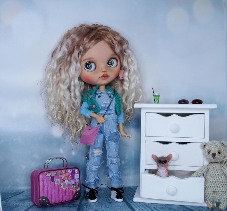 Paula – Custom Blythe Doll One-Of-A-Kind OOAK Custom Blythe Doll (OOAK)