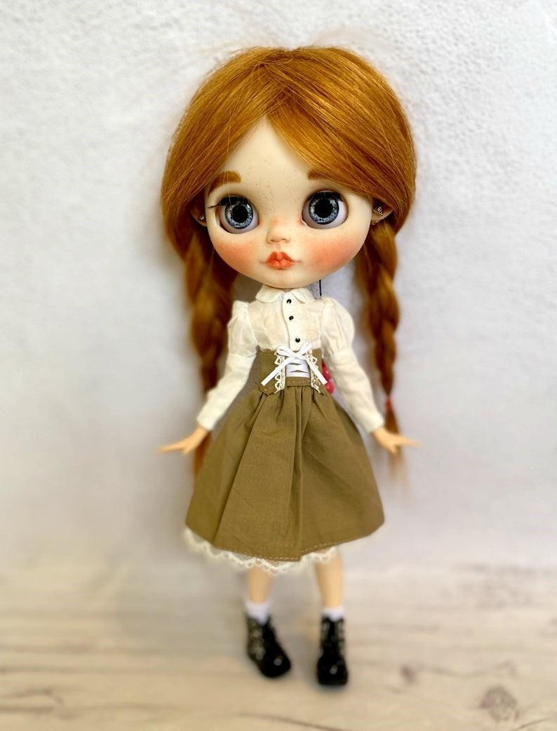 Polett – Custom Blythe Doll One-Of-A-Kind OOAK Custom Blythe Doll (OOAK)